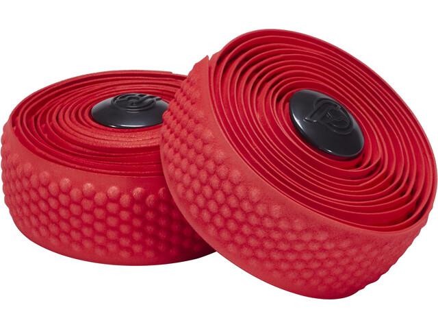Cinelli Bubble Ribbon Rubans de cintre avec micro-billes, red